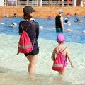 2015 Nova Chegou Bolsa de Viagem Wash Bag Mochila Sacos de Praia Da Família Set Roupas Sapatos À Prova D' Água Pacote de Admissão L