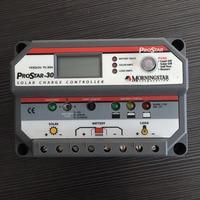 ШИМ 30A Морнингстар ШИМ Солнечный Зарядное устройство контроллер ps 30 12 В 24 В ЖК дисплей Экран prostar Солнечный контроллер для домашнего солнечн