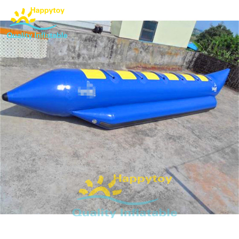 Customize 4 5 6 Persons Riders Seat Hot Sale Summer Ocean Rider Inflatable Water Games Fly Fish Banana Boat Inflatable Bouncers Aliexpress