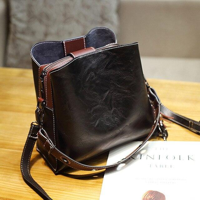 Vintage Genuine Leather...