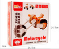Wooden Kids Toys Racing Motorcycle Assembly Model Of Children Love To Assemble Toys