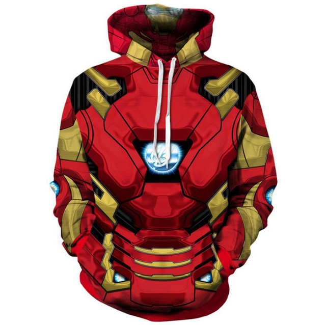 Black Panther Hoodie Sweatshirt Cool Print Fashion Men's Thanos 2018 Avengers Infinity War Men Women Hooded Sweatshirt