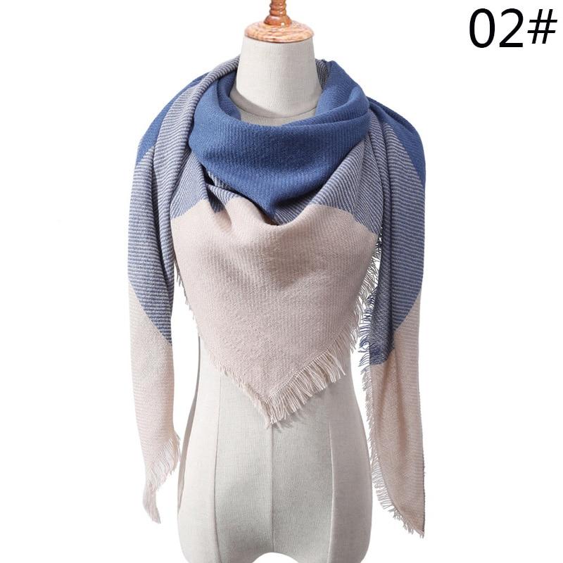 Бренд Evrfelan, шарфы, Прямая поставка, женский зимний шарф, высокое качество, плед, одеяло, шарф и шаль, большой размер, плотные шарфы, шали - Цвет: W13
