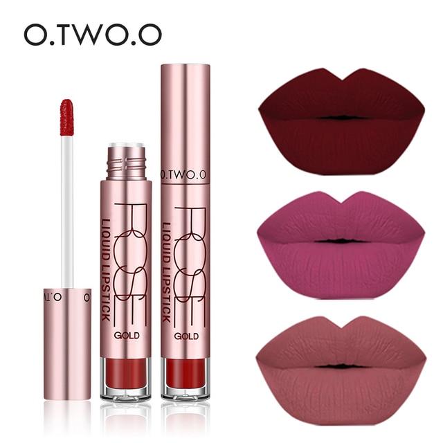 Otwoo Lip Tints Lipgloss Liquid Lipstick Batom Mate Maquillage Lip