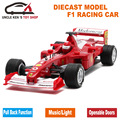 1:28 Collectible Diecast Formula 1 Model Cars, Mclaren F1 Metal Souvenir, Kids Alloy Toys With Pull Back Function/Sound/Light