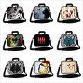 AIYINGE Messenger Bag bolsa notebook bolsa para laptop manga com punho escondido neoprene 17 polegada 15.6 14 14.1 13 13.6 12