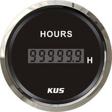 Hourmeter-Hour-Meter KUS Digital Motorcycle 52mm for Diesel Gasoline Car 0-99999.9 Range