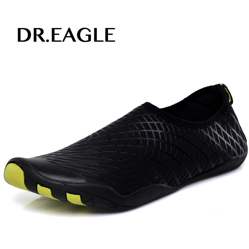 Dr.eagle Men Outdoor Sneaker Shoes for swimming pool shoes women fishing aqua water shoes diving wading barefoot beach shoes 46