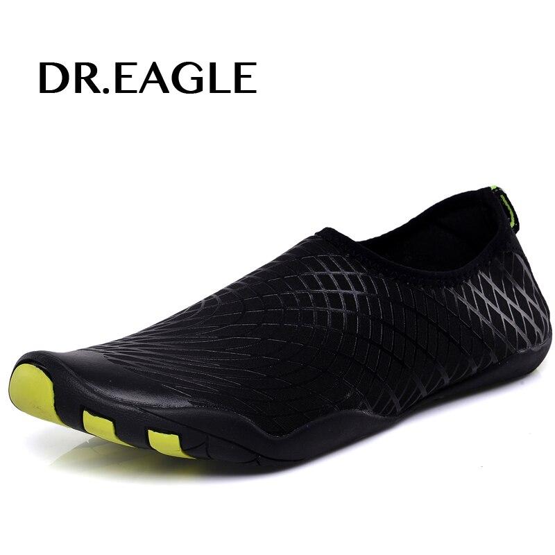 Dr. aquila Uomini della Scarpa Da Tennis All'aperto Scarpe per il nuoto piscina scarpe da donna scarpe di acqua di immersione subacquea di pesca aqua camminare a piedi nudi scarpe da spiaggia 46