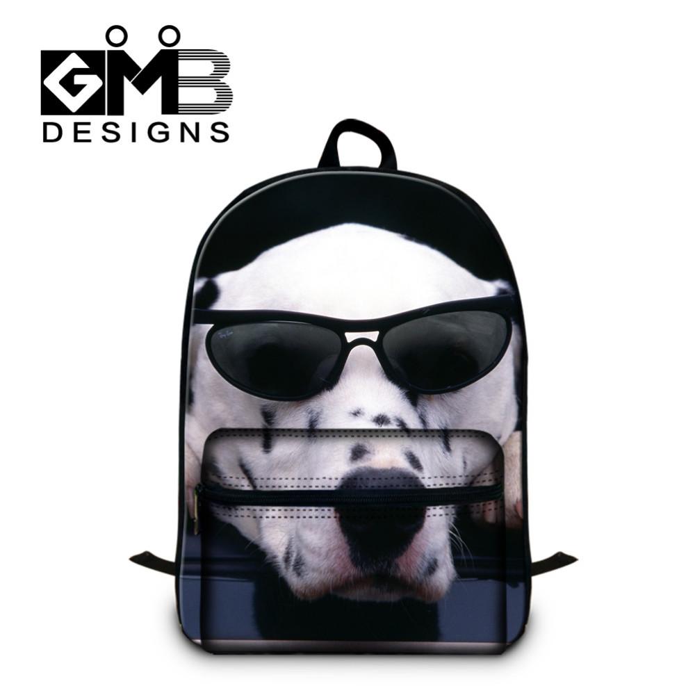 dog with sunglasses bag