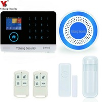Touch Screen RFID Wireless Wifi GSM Auto Dial Home House Office Security Burglar Intruder Alarm