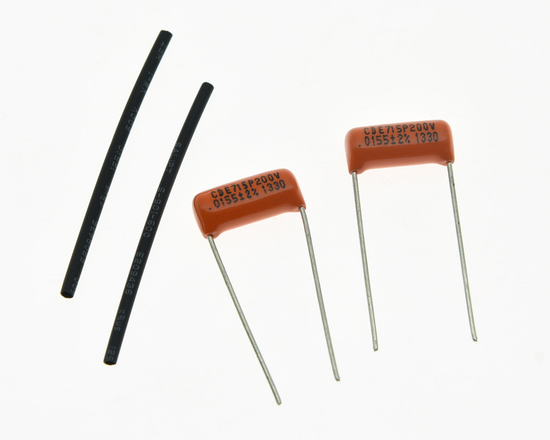 2 Pieces Sprague .1UF 600V Orange Drop Capacitors