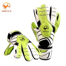 MAICCA Soccer Goalie Gloves Football Goalkeeper Professional kids Children Finger Protection Latex