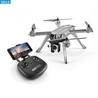 Quadrocopter GPS Drone With Wifi Camera 1080P HD 5G FPV Helicopter Profissional Dron Brushless Motor MJX RC