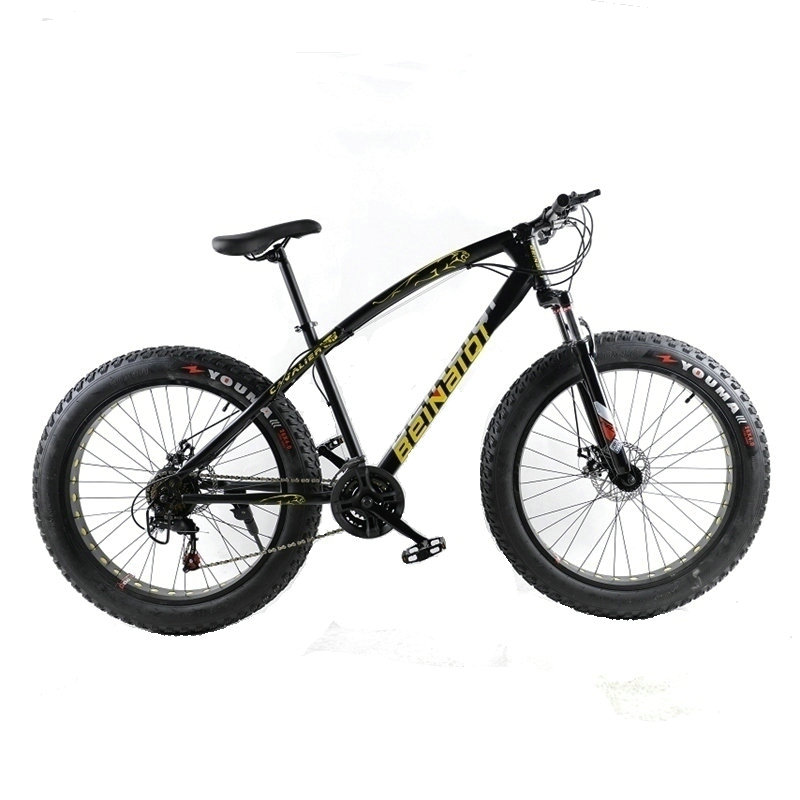 High quality. Mountain bike .26x4.0 fat bike .7 speed .21 speed. Off-road bike. Double disc brakes. Men and women bike suitable mountain bike four perlin disc hubs 32 holes high quality lightweight flexible rotation bicycle hubs bzh002