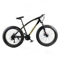 High Quality Mountain Bike 26x4 0 Fat Bike 7 Speed 21 Speed Off Road Bike Double