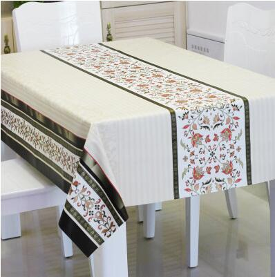 The New PVC Table Cloth Fabric Waterproof Oil Proof Disposable Tablecloth  Table Mats Soft Glass Table Mats Table Cloth In Tablecloths From Home U0026  Garden On ...