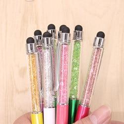 10pcs cute kawaii metal diamond crystal ballpoint pen touch ball pen for ipad iphone gift school.jpg 250x250