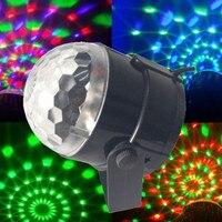 3W Mini RGB LED Projector DJ Lighting Light Dance Disco Voice Activated Crystal Magic Ball Bar