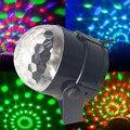 3 W Mini RGB LED Proyector de iluminación de DJ activado por Voz bola Mágica de Cristal de Luz danza Disco Party bar de Navidad Luces de la etapa Espectáculo