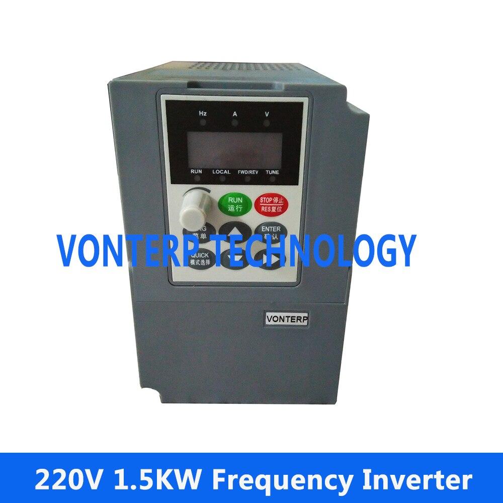 все цены на 220v 1.5kw single phase input and 220v 3 phase output Varaible speed drive Mini AC motor drive онлайн