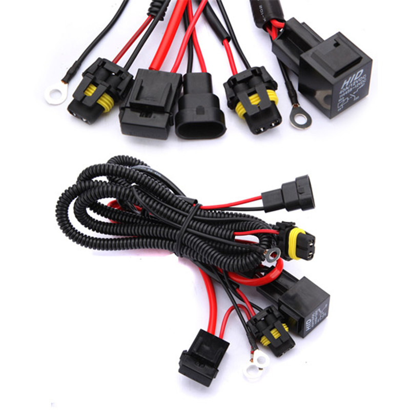 9005 9006 h1 h3 h7 h8 h9 h11 relay harness wire xenon