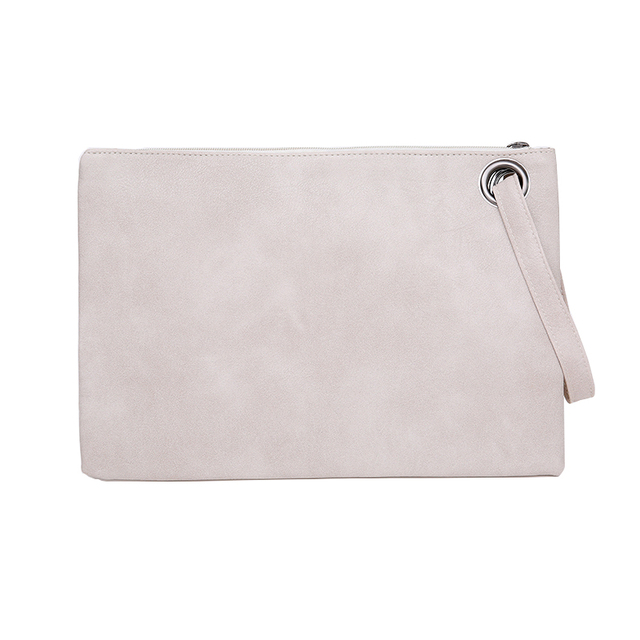 Yogodlns Fashion solid women's clutch bag leather women envelope bag clutch evening bag female Clutches Handbag free shipping