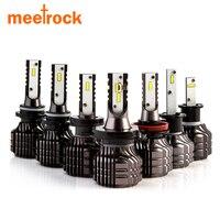 Meetrock 2 Pcs New CSP 9000lm 52W H11 H1 HB3 9005 HB4 9006 H4 H7 Led