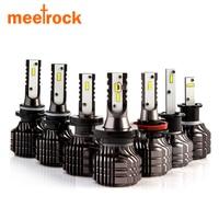 Meetrock 2 sztuk nowy CSP lm 52 W H11 H1 HB3 9005 HB4 9006 H4 H7 Prowadził Samochód Reflektorów źródło bez wentylatora auto mgła żarówka biały 12 v