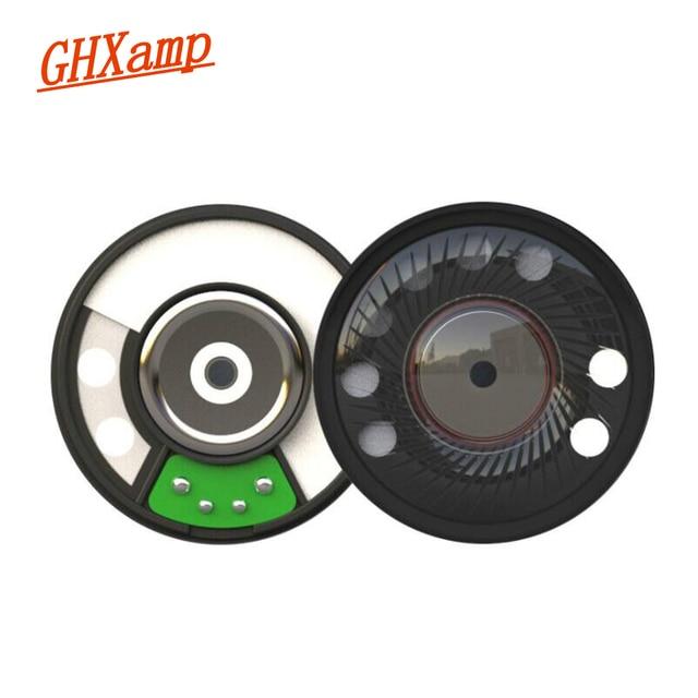 US $7 77 19% OFF|GHXAMP 50mm Headphone Speaker HIFI Woofer Neodymium 116db  16ohm Headset Horn DIY Repair Parts 2pcs-in Portable Speakers from Consumer