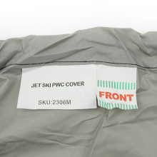 210D PU coated Oxford polyester jet ski cover,PWC Size:L 113-128″ Two kinds of color stitching Boat cover,PWC suit 285-325cm