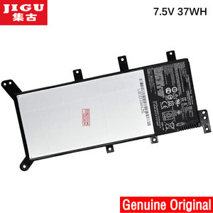 Bateria portátil jigu 7.5v 37wh, bateria de laptop para asus x554l x555 x555l x555la/ltd/x555ma 63/134 c21n1347