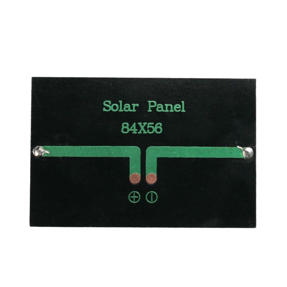 0.6W 5V Polycrystalline Solar Panel Cell Panel Solar Energy Charger For Garden Light Street Light