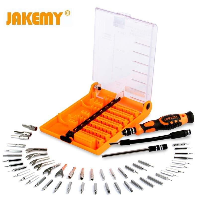 JAKEMY 52 In 1 Multifunctional Tools Aircraft 5 Second Fix DIY Repairing Herramientas UAV Tools Box Set Screwdriver Kit Set