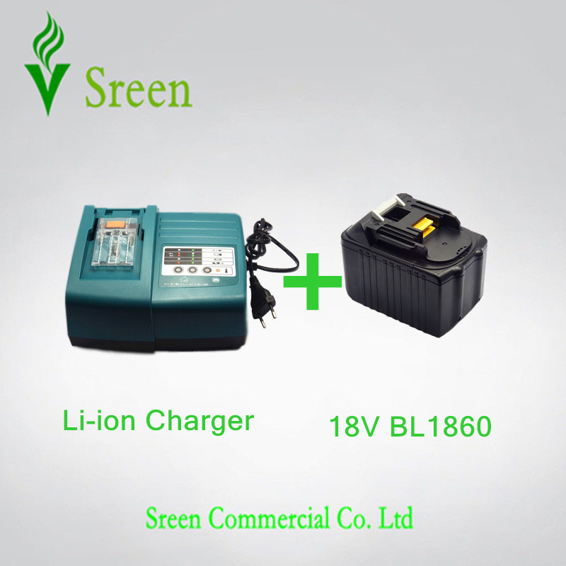 6000mAh New Emergency Rechargeable Lithium Ion & Power Tool Battery Charger Replacement for Makita 18V BL1830 BL1815 LXT400 power tool rechargeable battery charger for makita dc18rc li ion battery rapid 9a charger bl1415 bl1430 bl1815 bl1830