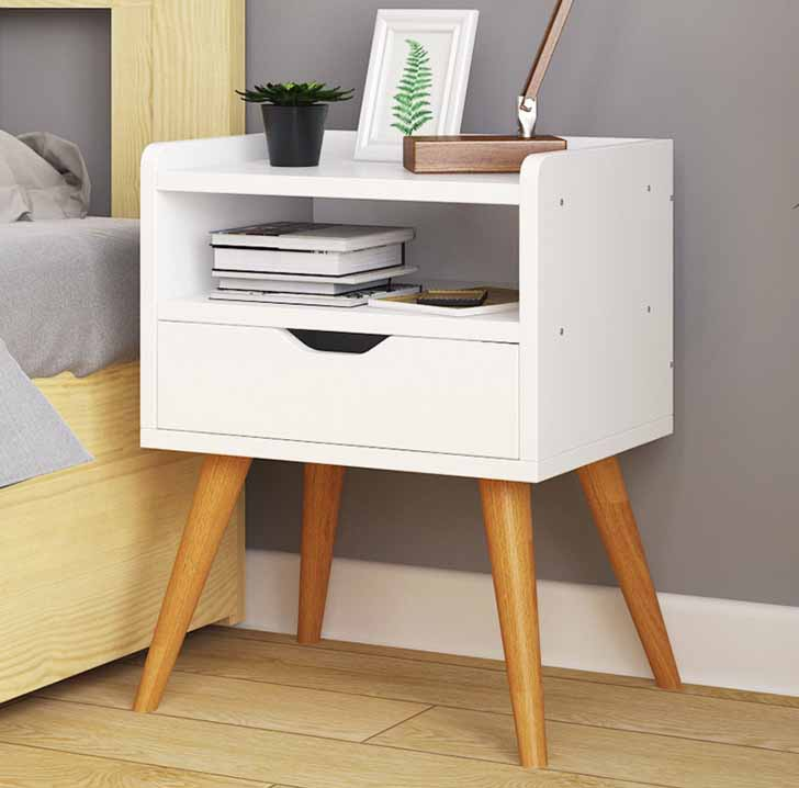 Modern Simple Design Bedside Cabinets Table Home Living Room Bedroom Furniture Nightstands Storage Box цены