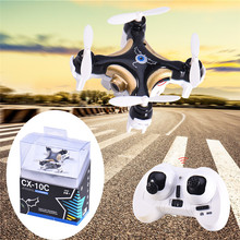 New Original CX-10C Mini Drone 0.3mp Camera 2.4G 4CH 6 Axis LED RC Quadcopter Toy Helicopter with LED light Toys for Children