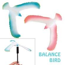 Поддерживающий баланс птица игрушка подарок Волшебная балансирующая птица удивительный Орел забавная пластиковая игрушка