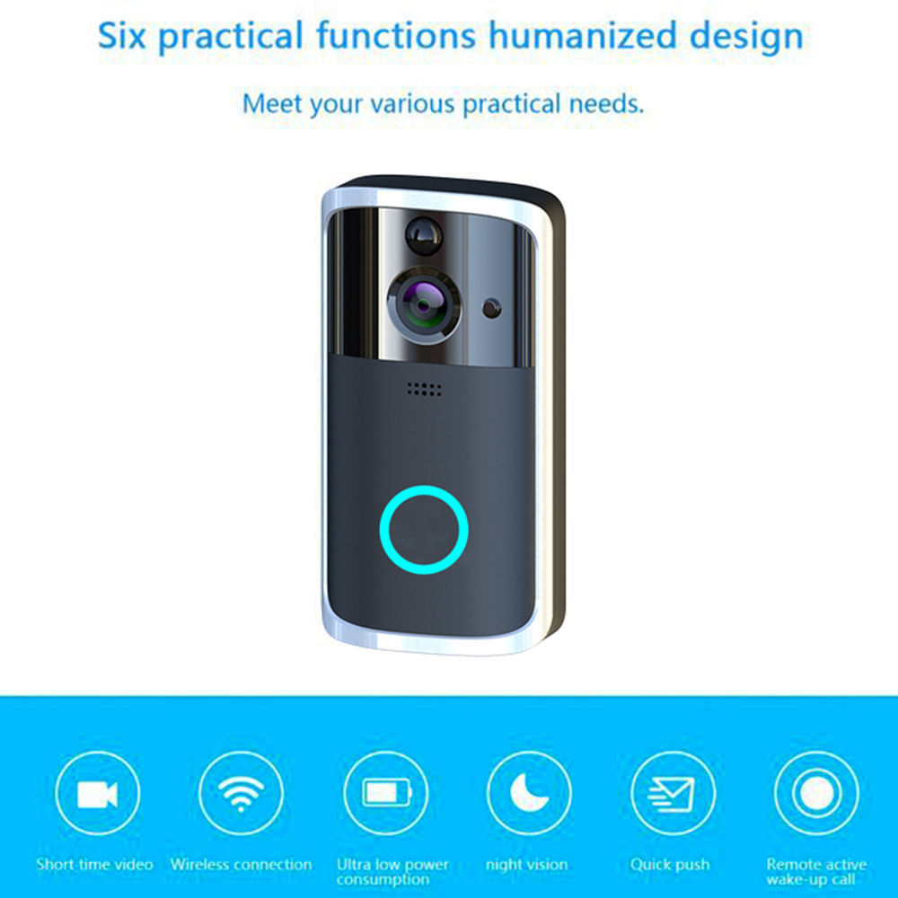 HTB1k3hMUQvoK1RjSZFDq6xY3pXa6 - WiFi Video Doorbell Camera