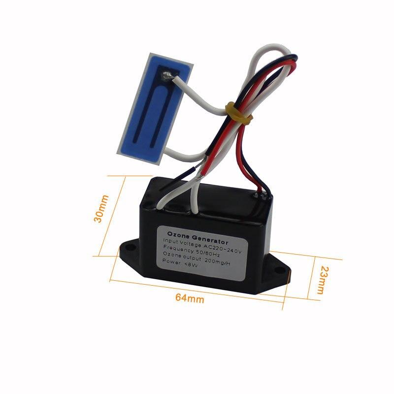 Kbxstart Luft Reiniger Für Home Tragbare Ozon Generator 200 mgr/std Keramik Generator AC220V DC12V Ozonizador Gerador De Ozônio