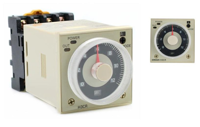 019559a0a2d Time Delay Multi functional Timer H3CR A 12 48VDC 24 48VAC DPDT ...