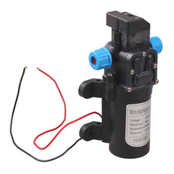 Водяной насос высокого давления DC12V 60 Вт автомобильная мойка микро электрический самовсасывающий автоматический переключатель 5л/мин маши...