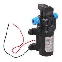 DC 12V 60W High Pressure Micro Diaphragm Water Pump Automatic Switch 5L Min FULI