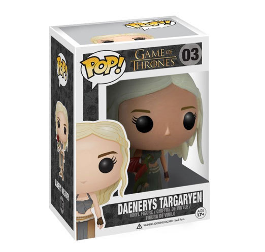 Funko POP Game of Thrones Jon Snow,Daenerys Targaryen Vinyl Action Figure
