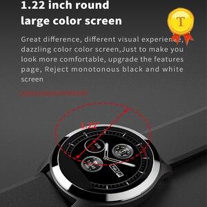 Image 5 - Preciso ppg + ecg pressão arterial relógio inteligente rastreador de freqüência cardíaca monitor inteligente esporte relógio de pulso inteligente pulseira de fitness rastreador banda