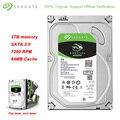 Original Seagate 3TB BarraCuda 3,5 Zoll Interne 64MB Cache Business HDD 7200RPM SATA 3,0 Festplatte Festplatte für Desktop PC