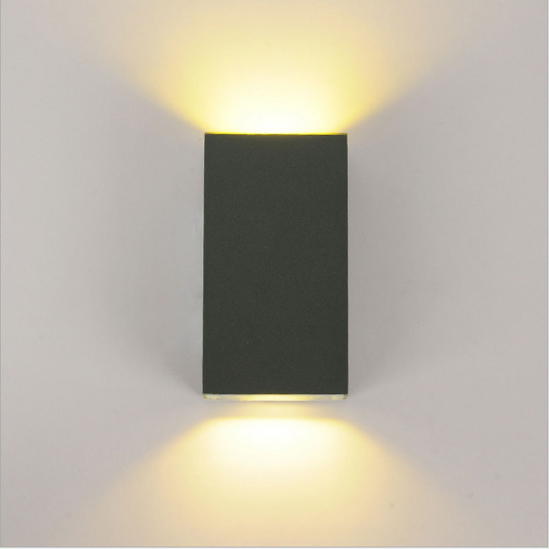 Led Light Fixtures Residential: Aluminum Outdoor Waterproof Wall Lamp Led Courtyard