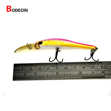 5PCS 9.5CM Minnow Fishing Lure Wobbler Carp Lures With Hook Fish Tackle Ice Baits Wobblers Bait-artificial China For Pike Trout