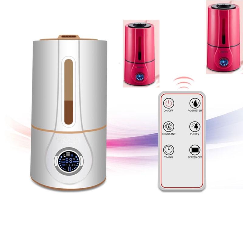 все цены на  Ultrasonic Humidifier Mute Home  Aromatherapy Air Humidifie Aroma Diffuser Nebulizerr Mini Ultrasonic Sterilization Oxygen Bar  онлайн