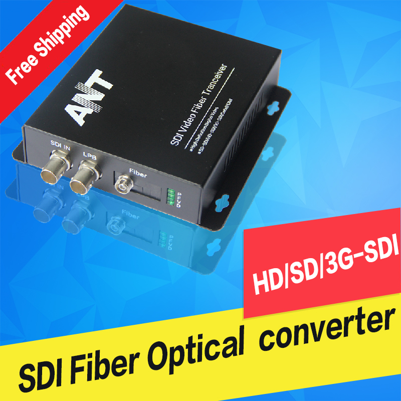 Sdi Fiber Converter Sdi Optical SD/HD/3G-SDI Optical Transmitter And Receiver Extender 1080P
